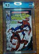 Amazing Spider-Man 361 CGC 9.2 1st Appearance Of Carnage