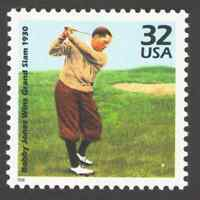 US. 3185 n. 32c. Bobby Jones Wins Golf Grand Slam, 1938. Celebrate The Century.