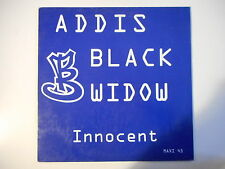 "ADDIS BLACK WIDOW : INNOCENT ( REMIXED ) ► Maxi 12"" ◄ french 12"" Promo"