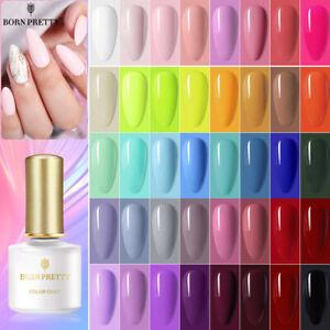 BORN PRETTY 6ML Nail Art Gel Color Polish Soak-off UV/LED  DIY Varnish