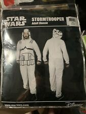 STAR WARS Stormtrooper One Piece Pajama Suit Size L/XL