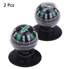 Car Mini Adsorption Compass Direction Dashboard Guide Ball Vehicle Accessories`