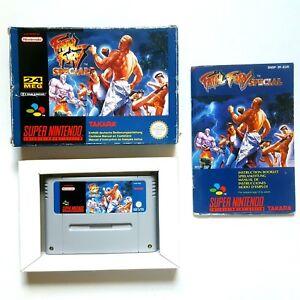 SNES Fatal Fury Special in OVP + Anleitung für Super Nintendo PAL Version