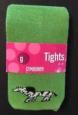NWT Gymboree Mod Zebra 2T-3T Green Zebra Tights