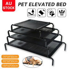 NEW 4 Sizes Heavy Duty Pet Bed Elevated Trampoline Hammock Cat Dog Raised Deluxe