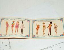 Living Barbie MOD 1969 Outfit Booklet Skipper Clothes Julia Ken Brad Brochure