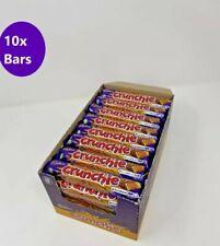 Cadbury Crunchie Chocolate Bar 10×40g  -SAME DAY DISPATCH,FREE POSTAGE