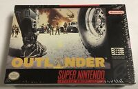 Outlander (Super Nintendo SNES, 1993) BRAND NEW Factory Rare Sealed Game