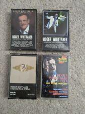 Set of 4 Roger Whittaker audio cassettes