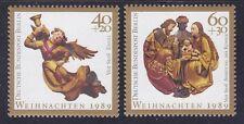 Germany Berlin 9NB975-76 MNH 1989 Angel and Nativity Christmas Set Very Fine