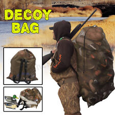 Portable Hunting Mesh Decoy Bag Decoy Backpack Mesh Turkey Goose Duck Decoy