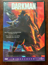 Darkman DVD 1990 Liam Neeson Superhero Action Movie Classic Region 1