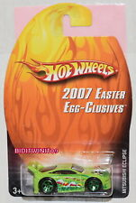 HOT WHEELS 2007 EASTER EGG-CLUSIVES MITSUBISHI ECLIPSE GREEN