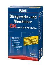 (14,90€/kg) Glasgewebe Vliestapetenkleber Glasfasertapete Kleber Glasfaser 1kg