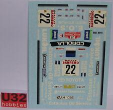RENAISSANCE TK24/180 CALCA TOYOTA COROLLA WRC SAN REMO 1999 MARTIN-KITSING 1/24