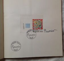 "MANESSIER catalogue 1981 ""ALLELUIA"" signature autographe SIGNED"