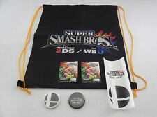 SUPER SMASH BROS. 2014 PROMO SWAG BUNDLE NINTENDO DISPLAY MARIO ZELDA