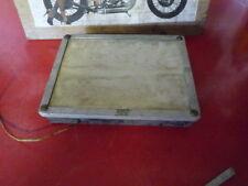 plaque immatriculation lumineuse moto anciennes
