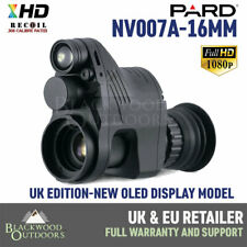Pard NV007A Night Vision 16mm OLED MODEL - Rifle Scope Add On - Free x2 Shims