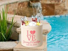 Personalized Love Anchor 2 Gallon Stoneware Crock