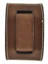 "Nemesis BGSB Brown Stitched Arrow End Leather Watch Cuff Band 24mm 10.5"" 2.25"""