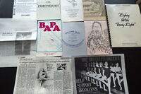 Massive Press Kit - DIG POINTE DANCERS 1987 publicity Company School BROOKLYN NY