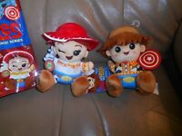 JESSIE & WOODY WISHABLES PLUSH TOY STORY MANIA SERIES LIMITED RELEASE NEW!