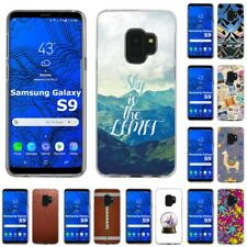 Slim Thin Gel Design Protective Phone Case Cover for Samsung Galaxy S9,Sky Print