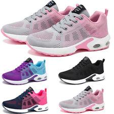 Damen Sportschuhe Sneaker Laufschuhe Freizeit Luftkissen Turnschuhe Atmungsak
