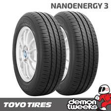 2 x Toyo Nanoenergy 3 Premium Eco Road Car Tyres 155 70 13 75T  1557013