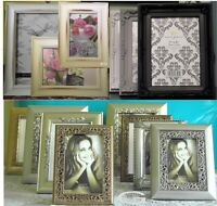 """New Picture/Photo Frames Antique Xmas Ornate Wedding Style 6x4"""" 5x7,10x8 A4 12x9"""