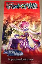 Force of Will FOW R1 Pandora, Guardian of the Sacred Temple ORIGINAL WALL BANNER