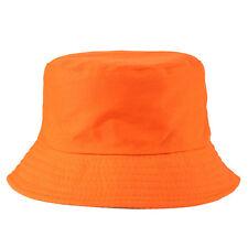 Bucket Hat Cotton Fishing Brim Boonie visor Men Sun Hunting Summer Camping Cap