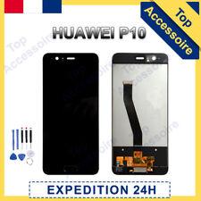 VITRE TACTILE + ECRAN LCD ORIGINAL PRET-A-MONTER POUR HUAWEI P10 NOIR + OUTILS