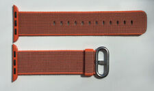 Genuine APPLE Watch Strap Band 38MM / 40MM Woven Nylon SPACE ORANGE / ANTHRACITE