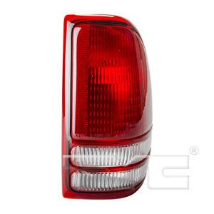 TYC 11-6072-00 Dodge Dakota Driver Side Replacement Tail Light Assembly