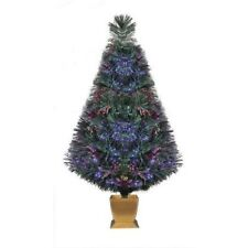 "Pre-Lit 32"" Fiber Optic Artificial Christmas Tree - Color Change Lighting- NEW *"