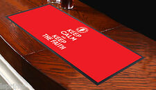 KEEP CALM AND THE FAITH Rojo Toalla de Bar Ideal Para Cóctel casero FIESTA