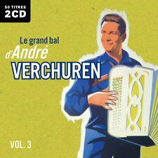 CD Le grand bal d'André Verchuren : Volume 3 - 2 CD - 50 Titres