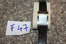 ladies GUESS MICROSTEEL WRIST WATCH,  works, new battery F47