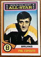 1974-75 O-Pee-Chee Hockey - #129 Phil Esposito - All Star - Boston Bruins