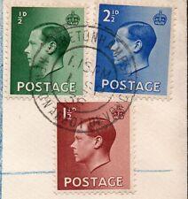 Kedviii 1st day cover 1 Sept 1936 registered Devon Moretonhampstead to Beaulieu