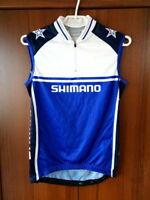 Shimano Cycling Jersey Half zip Sleeveless size M