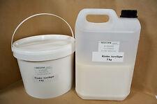 Résine Acrylique de coulée kit 6 kg
