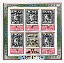 Barbuda London 1980 Overprint 25c MNH Sheetlet