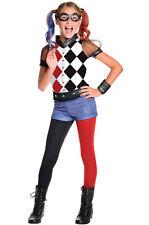 Rubie's DC Superhero Girl's Harley Quinn Costume Large 620712 L
