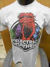 Mens Licensed The Muppets Electric Mayhem Distressed Print Shirt New 5XL
