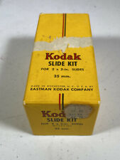 Kodak Slide Kit Glasses With Accessories Masks, Covers, Id labels