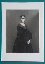 MADAME BARETTA-WORMS - French Actress  - Original Photogravure Priont