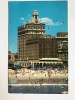 ATLANTIC CITY NJ The Shelburne Hotel Vintage 1950s Postcard Early Old PC